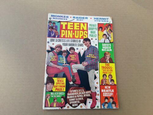 Vintage Teen Pin-Ups Magazine Vol. 6 No. 2 May 1967. Music, Pop Culture