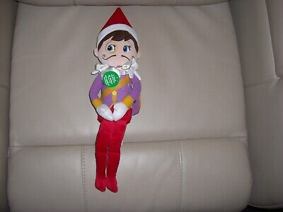 Plushee Pals Scout Elf on the shelf Joe Plush talking doll New
