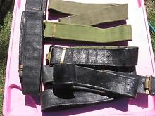 Ex-Army issue combat belts Flagstaff Hill Morphett Vale Area Preview