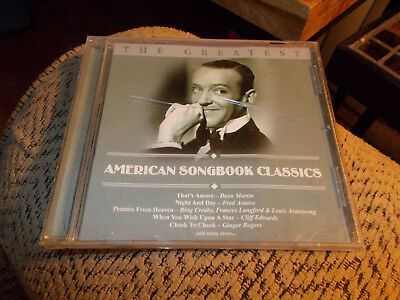 THE GREATEST CD AMERICAN SONGBOOK CLASSICS