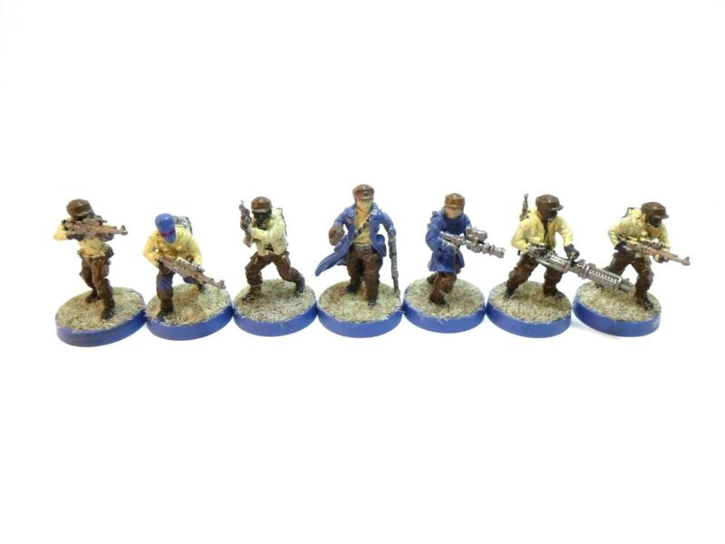 Star Wars Legion Rebels Troopers with unit card