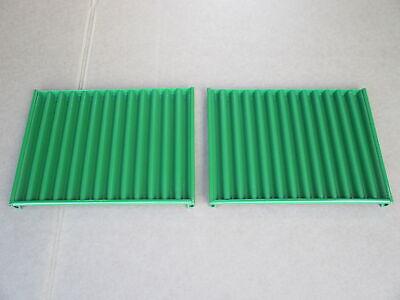 2 Metal Side Grill Screen Panels For John Deere Jd 1630 2040 2240 820 830 920