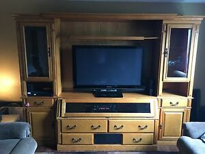 Solid wood - wall unit **reduced**