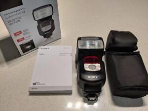 Sony HVL-F43M Flash Speedlite & LED Video Light - AS NEW