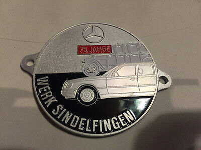 Badges & Mascots Car Badge Mervedes Benz-sl-club Pagode Car Grill Badge Emblem Logos Metal Enam