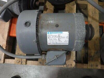 Marathon 5 Hp Electric Ac Motor 208-230460 Vac 1730 Rpm 3 Phase 184t Frame