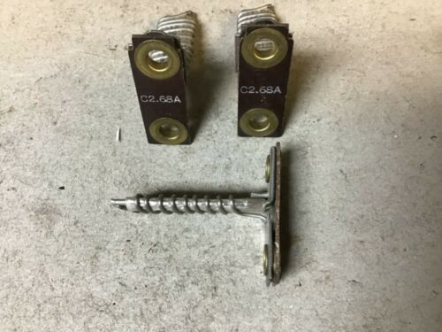 General Electric GE CR123C2.68A Overload Heaters-Lot of 3