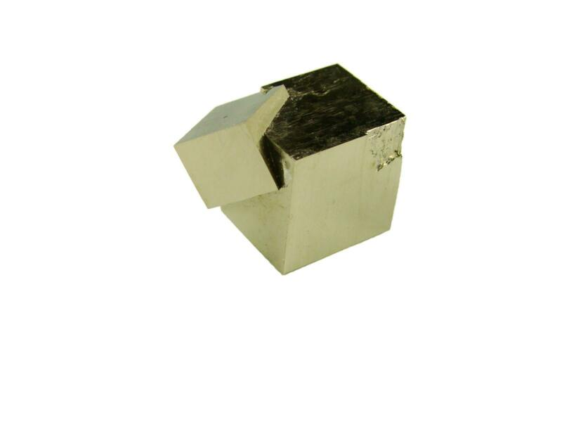 Navajun Spain Mine - Pyrite Cube Crystal With Display Case-#PC22