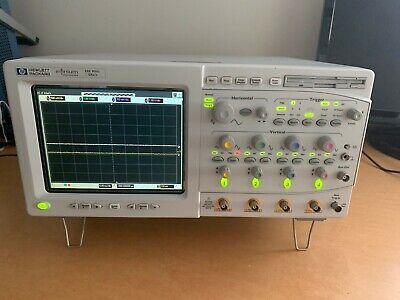 Hewlett Packard Infinium Oscilloscopes 500 Mhz Model 54815a