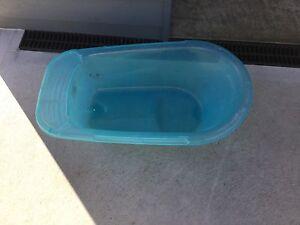 Plastic baby bath Hobart CBD Hobart City Preview