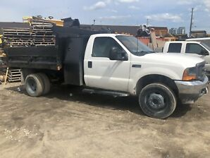 FORD F450 DUMP TRUCK WITH TAILGATE SALTER