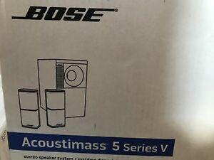 Brand New BOSE Acoustimass 5 Series V stereo speaker system