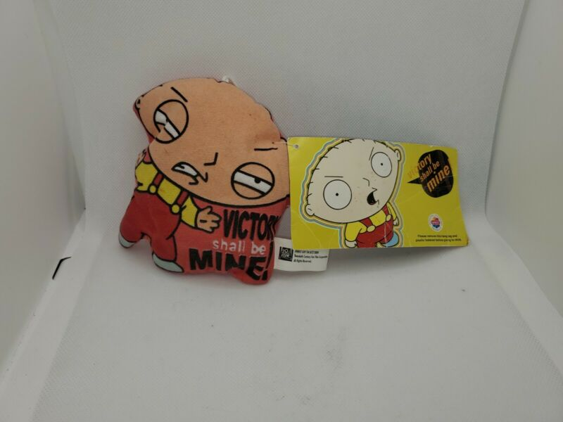 Family Guy Stewie Griffin Car Hanger Small Pillow victory shall be mine