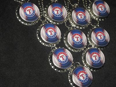 Texas Rangers Necklaces party favors lot 10 necklace necklaces loot bag - Texas Rangers Party Supplies