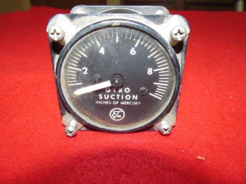 Airborne MFG gyro suction gauge 1G3-1