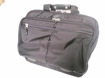 ROLLING Wheeled Laptop Notebook Briefcase BAG case Wheeled Notebook Case
