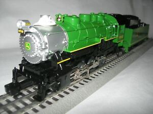 LIONEL 6-83286 E JOHN DEERE STEAM ENGINE & TENDER LIONCHIEF REMOTE CONTROL SALE