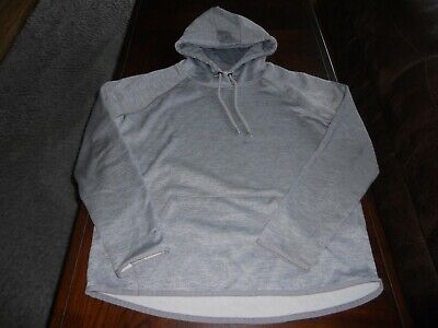 Under Armour womens hoodie size M medium MINT cond loose fit sweat shirt Storm