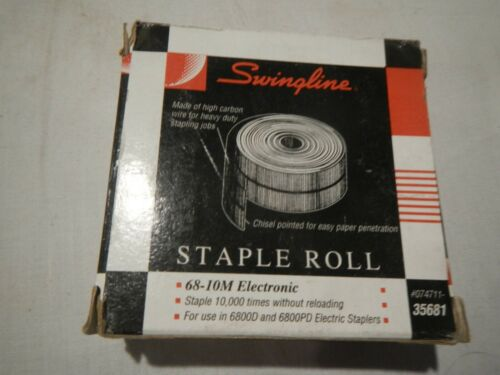 Swingline Electronic Staple Roll for Model 6800-D & 6800PD Electric Staplers