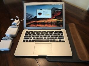 MacBook Air 13 (mid 2013) with adapters and accessories