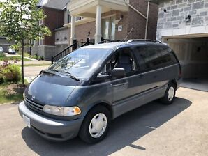 1994 Toyota Previa LE 4WD Camper-SOLD PENDING DELIVERY
