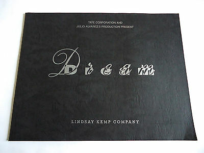 LINDSAY KEMP COMPANY Dream 1993 JAPAN SOUVENIR PROGRAM BOOK Dance Performance