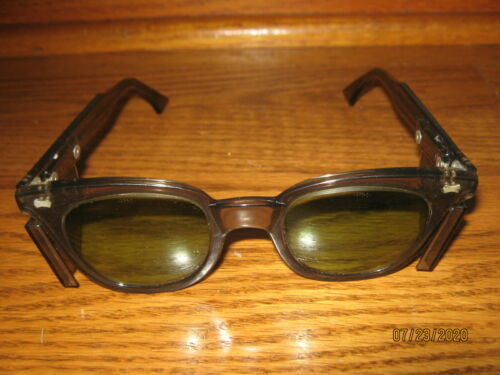 VINTAGE SUNGLASSES SAFETY GLASSES