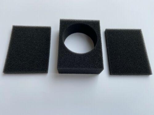 Schaum Ersatz-Kit. Passen Für Sennheiser MD 409/509  Mikrofon Neu # 49