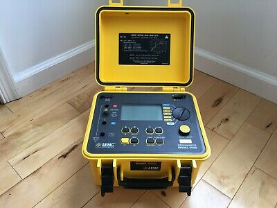 Aemc 5060 Megohmmeter Insulation Resistance Testers Very Good Condition