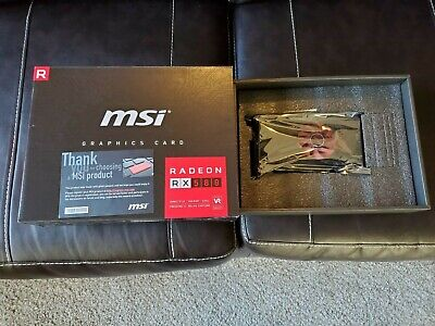 MSI Radeon RX 580 8gb Mini V1 Graphics Card NOT USED FOR CRYPTO