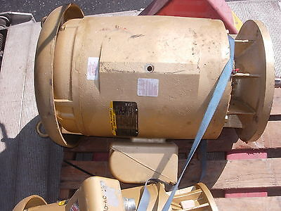 BALDOR ELECTRIC PUMP MOTOR   40 HP   575 VOLT CANADIAN