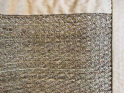 Pottery Barn Color Bound Seagrass Rug 2' x 3' Natural NEW ()