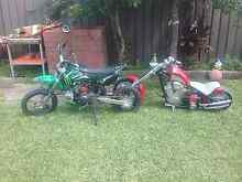 Chopper and thumpster for sale needs gone TODAY Bass Hill Bankstown Area Preview