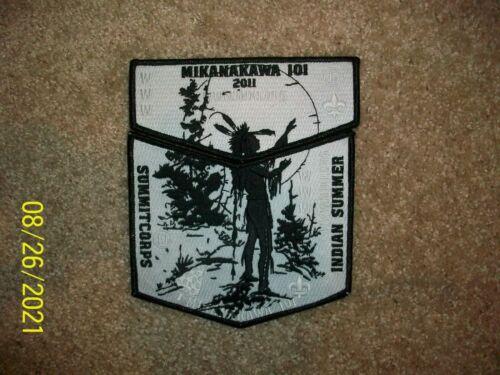 New Mikanakawa OA Lodge 101 Boy Scout Summitcorps Flap & Patch BSA