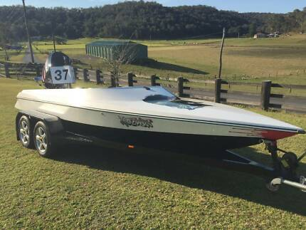 2003 Force F18 Light Weight, 07 250 HO Etec, Water Ski Race Boat Lower Portland Hawkesbury Area Preview