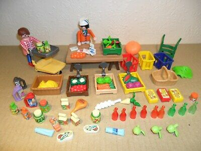 PLAYMOBIL GROCERY SHOP (Fruit and Vegetables)