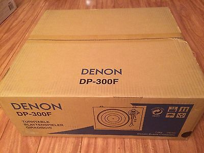 BRAND NEW Denon DP-300F Fully Automatic Analog Turntable