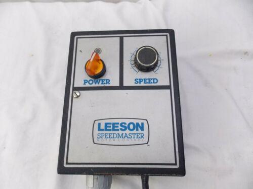 Leeson 174100.00  Speedmaster Motor Control