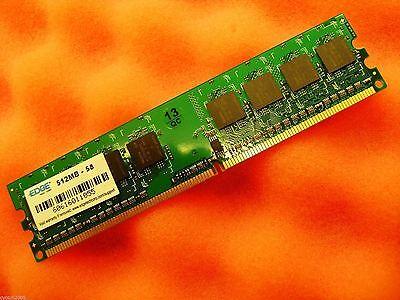 Edge Technology 512MB  DDR2 667MHZ PC2-5300 240-PIN DIMM Desktop MEMORY  240 Pin Edge