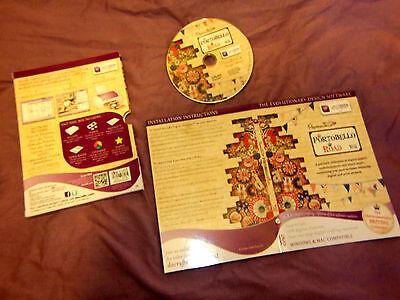 Docrafts - PORTOBELLO ROAD W11 - DVD Papermania 650 elements British win & mac
