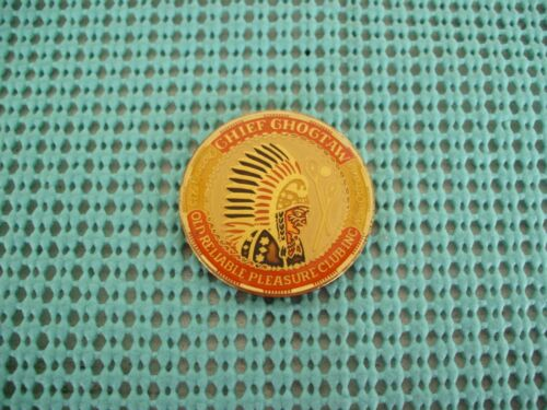 1984 Krewe of CHOCTAW Multi-Color bronze Mardi Gras doubloon