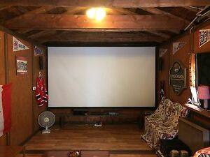 "150"" Projector Screen"