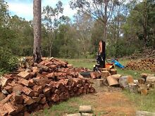 Premium Aged Ironbark Firewood } Camping-Fireplace-Firepit Logan Village Logan Area Preview