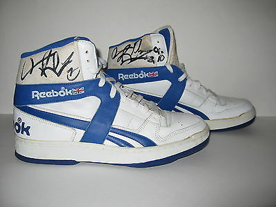 Dennis Rodman Game Used Worn Signed Detroit Pistons NBA Sneakers Proof 2c17ffc1d