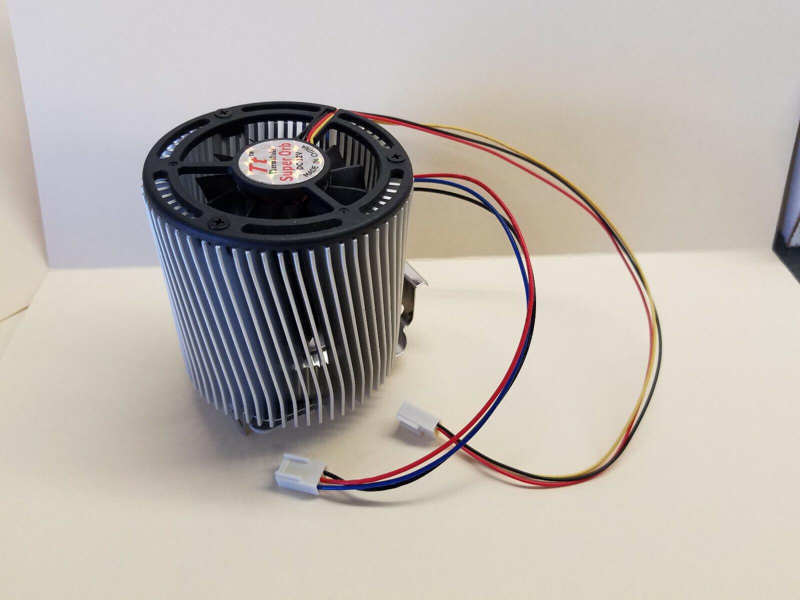 Thermaltake Super OrbSocket 370 462 CPU Heatsink with dual