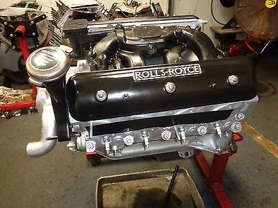 ROLLS ROYCE SILVER CLOUD BENTLEY S REBUILD ENGINE FITS 60 TO 66