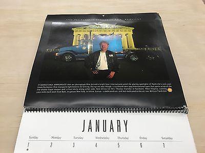 Shell Rotella Super Rigs Collectors Picture Calendar 1995