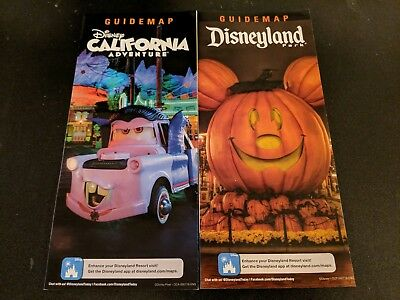 Disneyland Park Map Halloween Time  2018 ](Map Halloween)