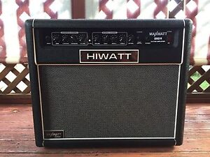 Hiwatt Maxwatt 50 Watt Solid State Guitar Amp Newcastle Newcastle Area Preview