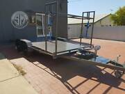 Beavertail car trailer *tyre rack and jerry can holders Holden Hill Tea Tree Gully Area Preview